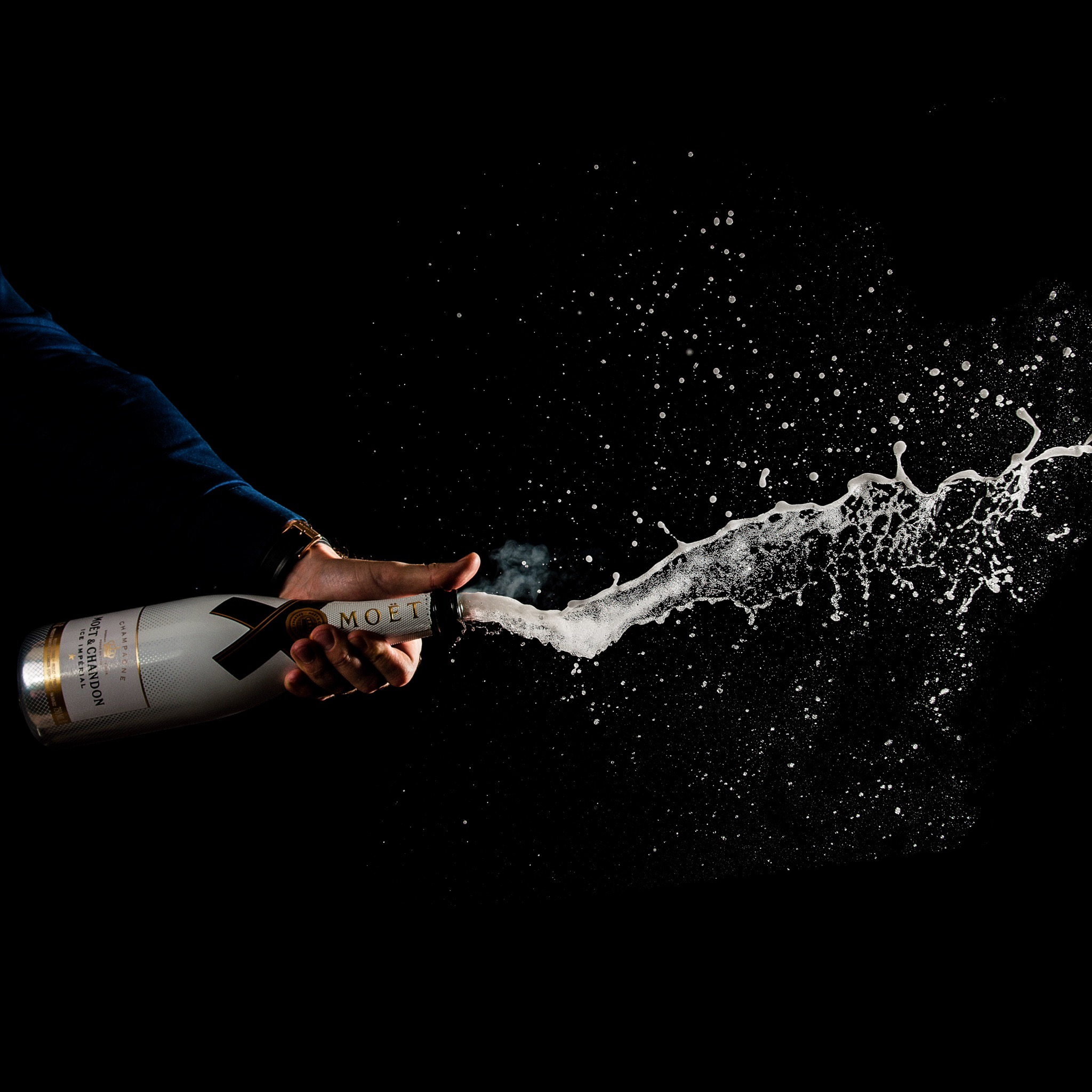 Moet Ice - Champagne Product photography
