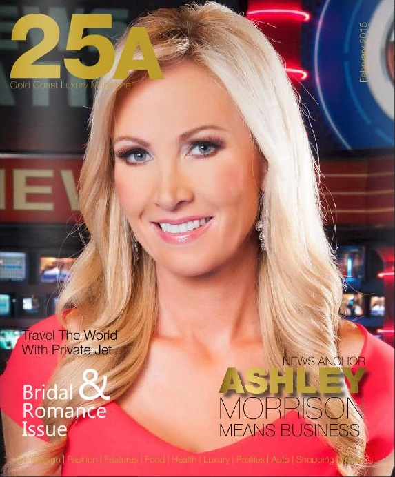 Ashley Morrison - 25A Magazine Cover
