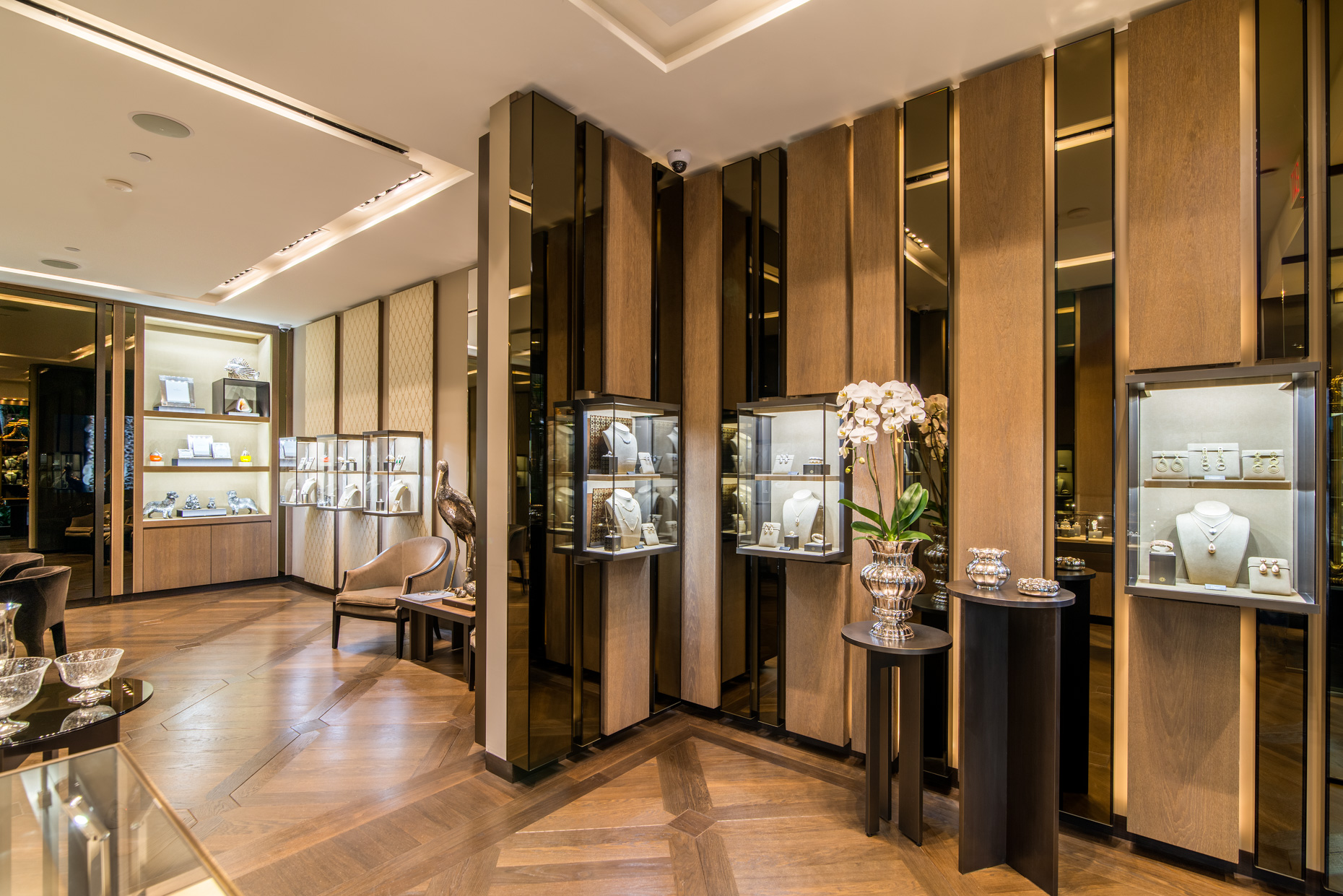Buccellati - Retail store interior photography
