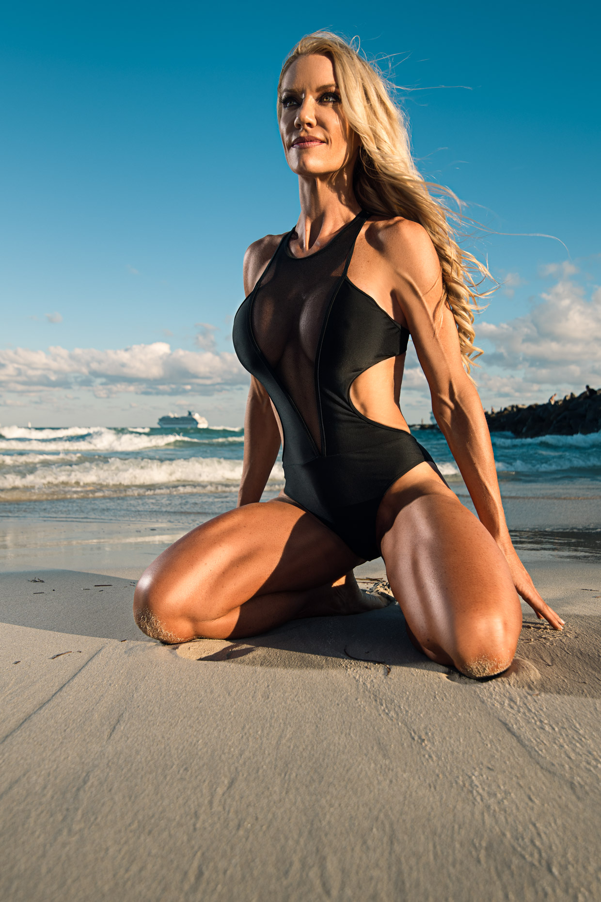 Cari-Ann Constant - IFBB physique competitor on Miami Beach, FL