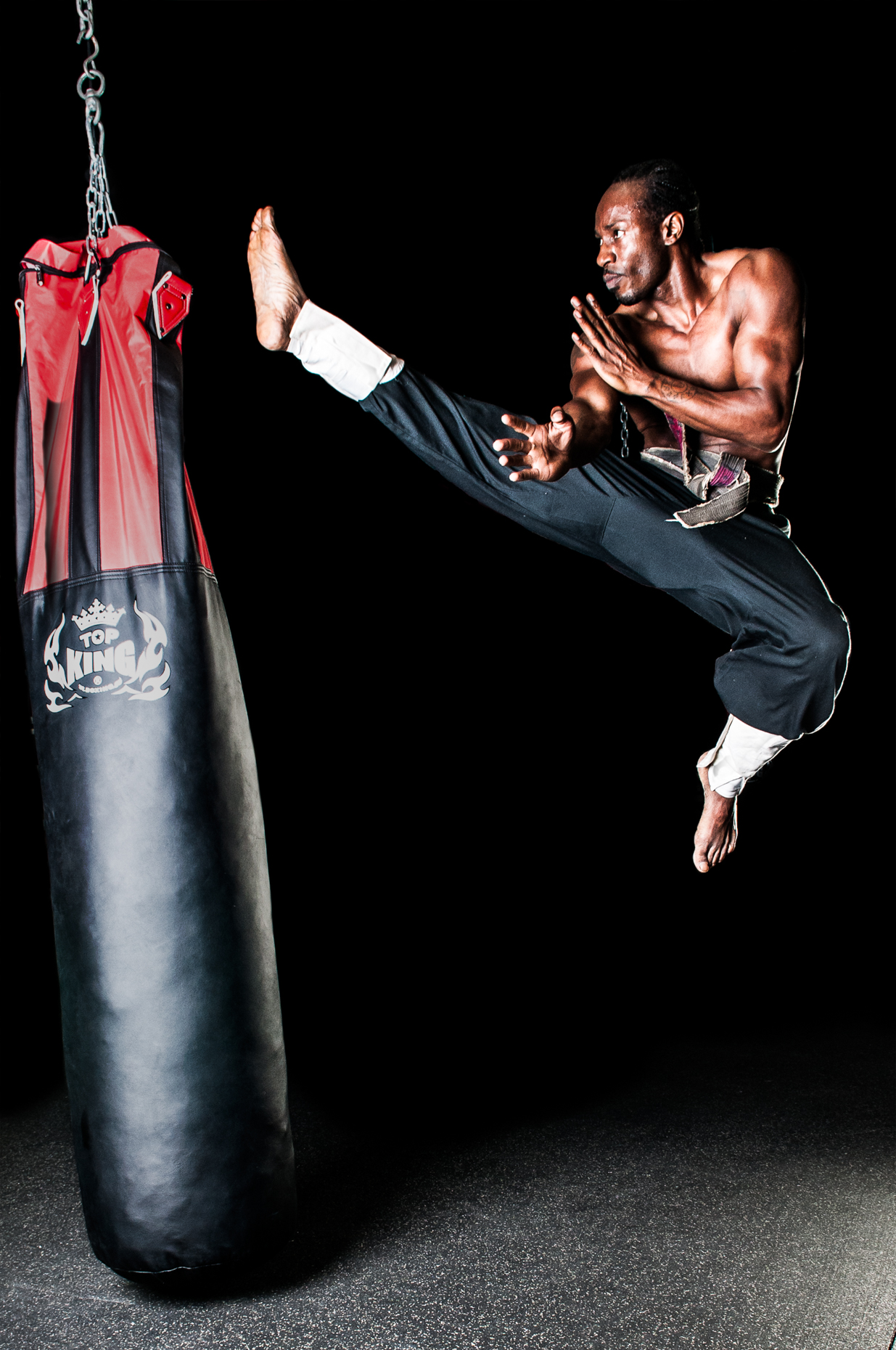 James Woodley Photography - MMA Grand Master Phoenix Le Grand - Kung Fu-3