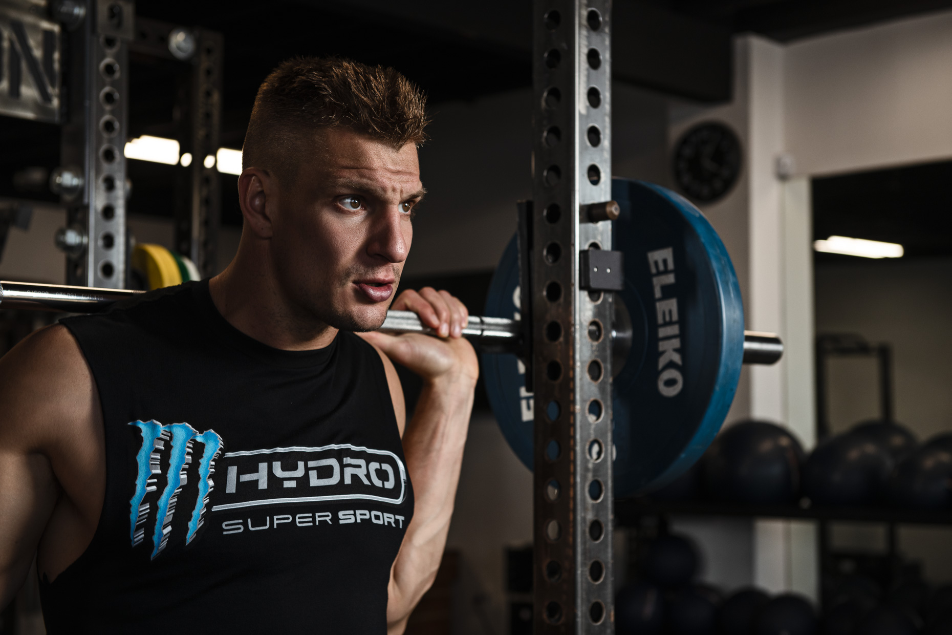 Rob Gronkowski (Gronk) for Monster Hydro Super Sport