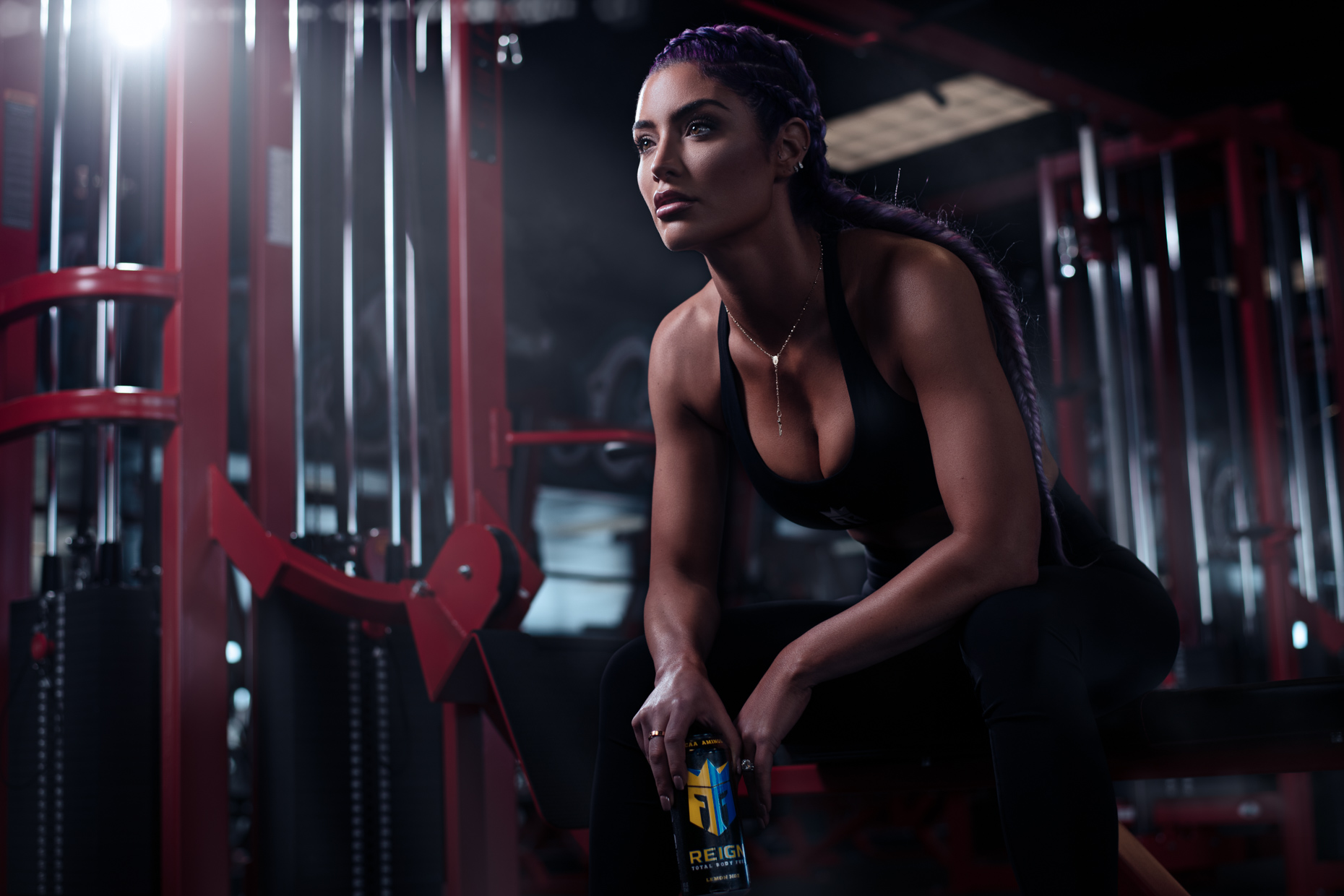 Reign Total Body Fuel - Energy Drink - Natalie Eva Marie - WWE - Thor Bjornson - World