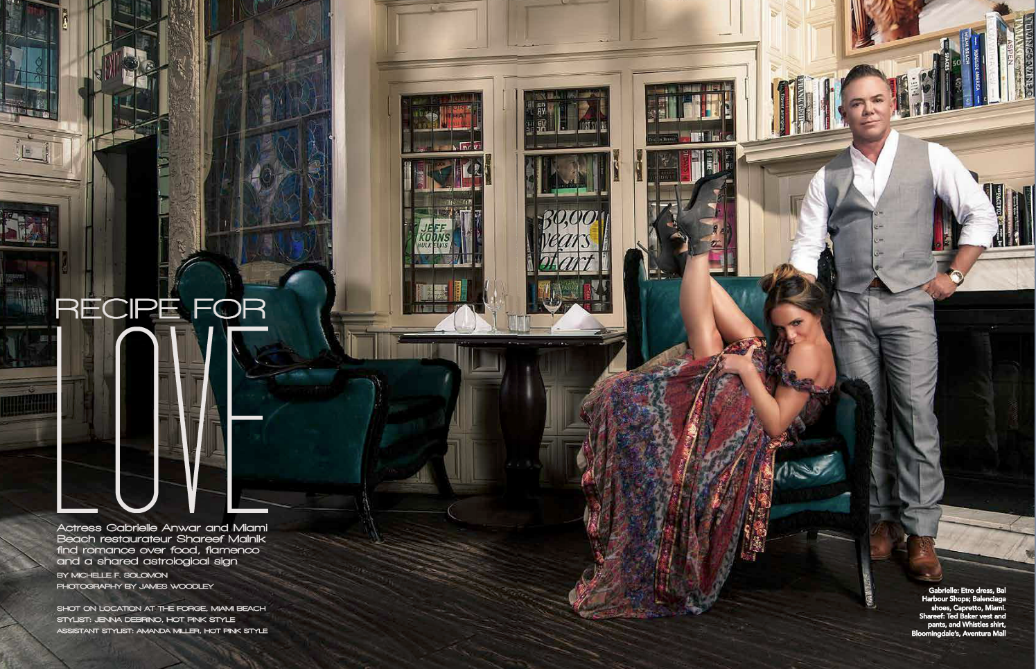 Las Olas Lifestyle Magazine - The Forge - Cover shoot - Interior 1