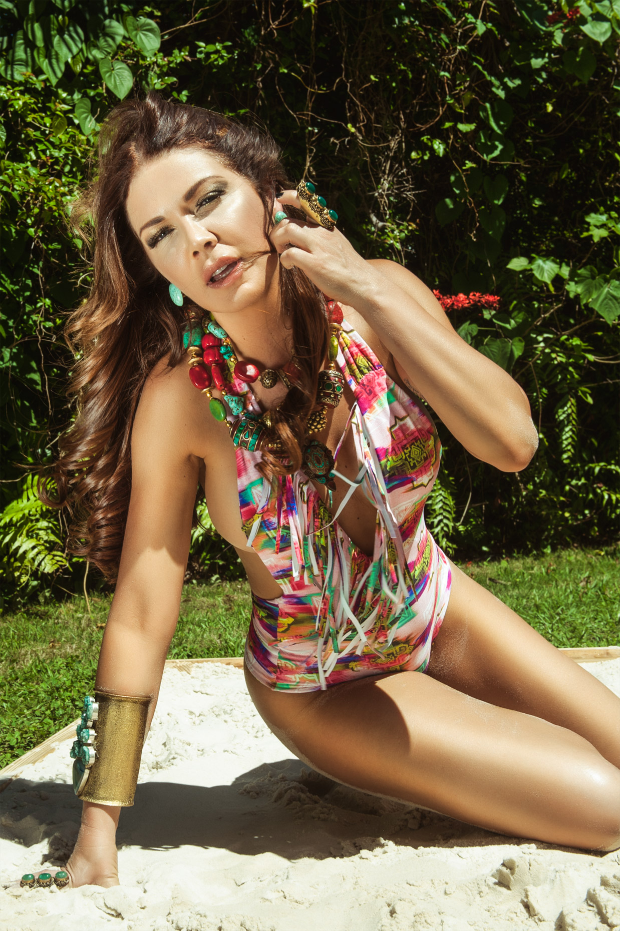Shireen Sandoval - Bathing suit