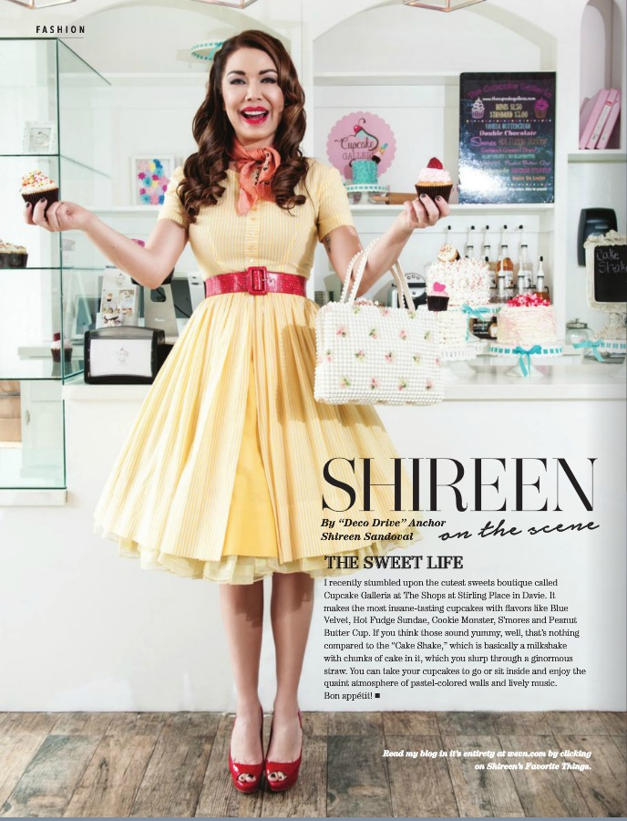 Shireen Sandoval - Las Olas Magazine - March 2016