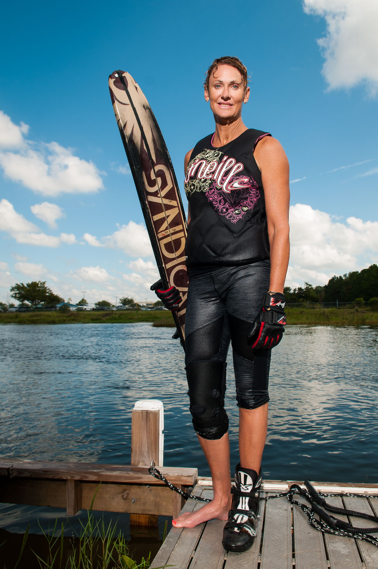 Hall of Fame Waterski Champion - Jen Lapoint - Athlete Portrait